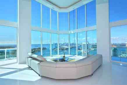 Ultra exclusivo penthouse de tres pisos en Torres Portofino en Miami Beach, Florida sale al mercado por $9,4 millones