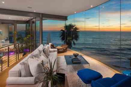 ¡De Ensueño! Mega espectacular casa de cristal flotante en Laguna Beach, California a la venta por $14,9 millones