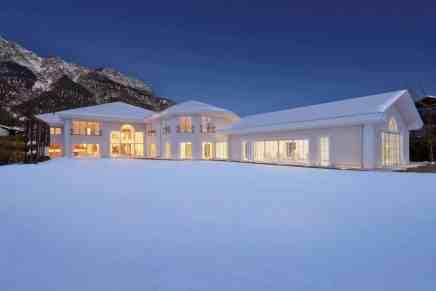 Villa Glory:  Esta magnífica obra maestra de estilo neoclásico en Garmisch Partenkirchen, Baviera, Alemania se vende por €18 millones