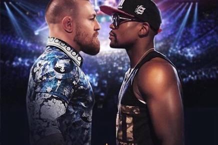 ¡LA PELEA DEL SIGLO! Floyd Mayweather se enfrentará a Conor McGregor en una súper pelea de más de $400 MILLONES el 26 de agosto en Las Vegas