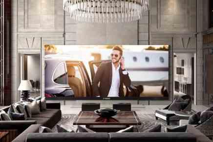 """¡UHD TV se hizo gigante!  C SEED presenta el """"262"""" – el televisor de pantalla ancha 4K más grande del mundo"""