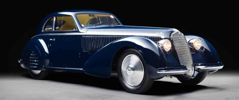 Alfa Romeo 8C 2900B Berlinetta de Touring Superleggera 1938
