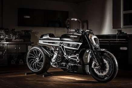 Ponen una Ducati XDiavel en las manos del diseñador Fred Krugger ¡Aquí el resultado!