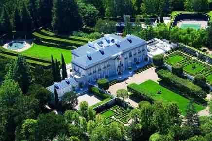 La mansión más cara de los Estados Unidos llega al mercado en Bel-Air por $350 millones