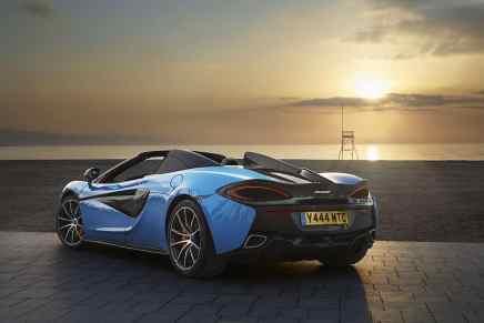 Mega espectacular McLaren 570S Spider