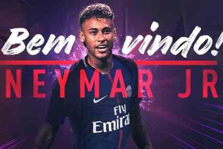#BemvindoNeymarJR 🇧🇷 — PSG finaliza el traspaso récord mundial de €222 millones de Neymar, tras firmar un acuerdo de €865.000 por semana para cambiar Barcelona por la capital francesa