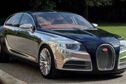 BUGATTI podría reemplazar su Chiron con este lujoso coche de cuatro puertas y motor eléctrico