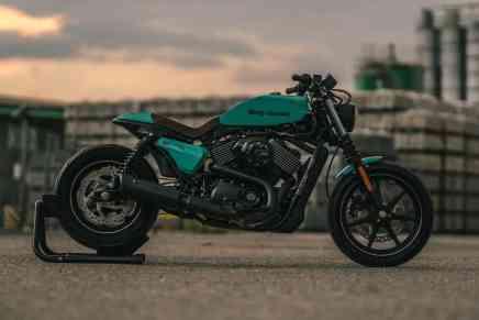 NCT Motorcycles ¡se atreve! y le da increíbles toques a una Harley-Davidson XG Street 750 por su vigésimo aniversario