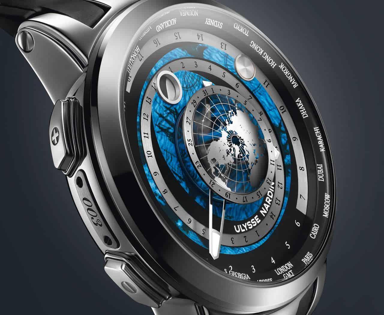 """""""Executive Moonstruck WorldTimer"""": El más exclusivo e innovador reloj de Ulysse Nardin"""