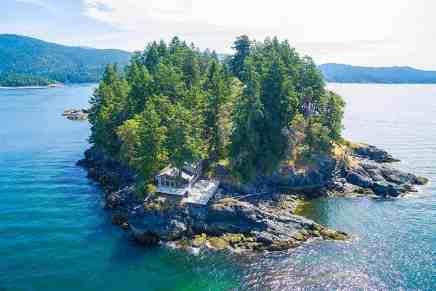 ULTRA exclusiva isla privada de 6-Acre en Sechelt, Columbia Británica sale a la venta por $3,6 millones