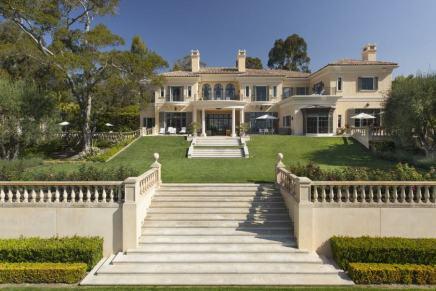 Esta ULTRA lujosa propiedad del fallecido multimillonario Ed Snider en Montecito llega al mercado por $52 millones