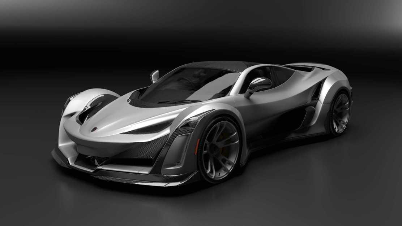 ANIBAL ICON: Un super coche canadiense propulsado por un motor Porsche de 920HP