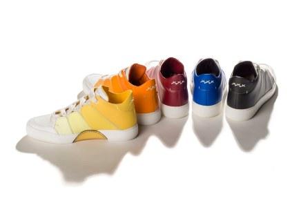 Ermenegildo Zegna presenta los nuevos Tiziano Rainbow Sneakers