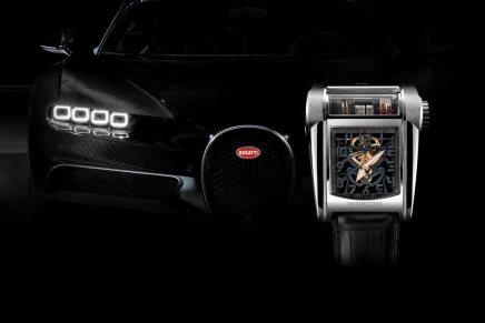 Bugatti Chiron sirve de inspiración para el nuevo reloj de Parmigiani Fleurier