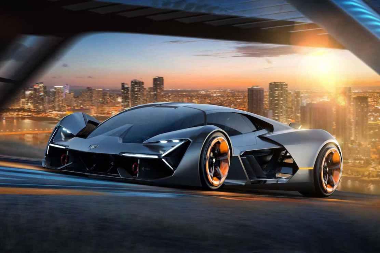 Lamborghini Terzo Millennio: Super concepto eléctrico. Puede almacenar energía eléctrica y auto abastecerse a sí mismo