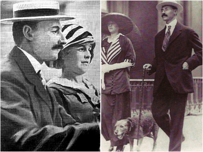 John Jacob Astor IV y Madeleine Force