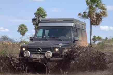 Conduciendo la Mercedes-Benz G-Class alrededor del mundo en 80 aventuras