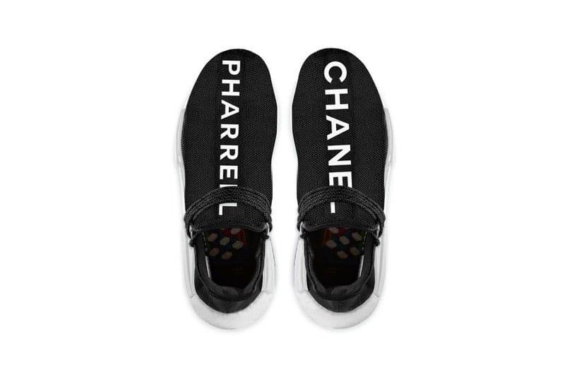 """Presentan los sneakers """"Chanel"""" más caros del mundo en colaboración con Adidas y Pharrell Williams"""
