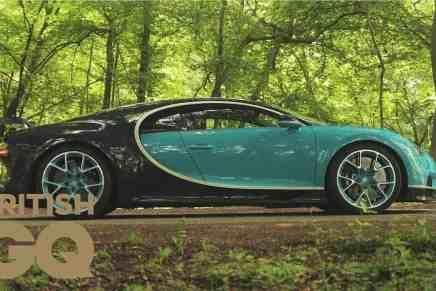 Con un precio de $3 millones y 1.500 hp, el Bugatti Chiron no es un automóvil, es una máquina del tiempo