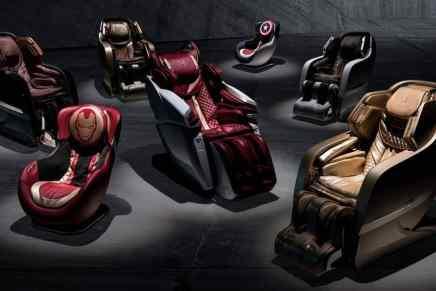 Ahora podrás comprar sillas para masajes inspiradas en los súper coches Lamborghini