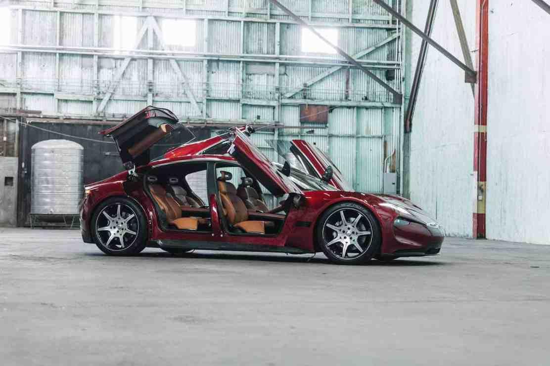 Nuevos detalles e imágenes emergen del EMotion EV de Fisker