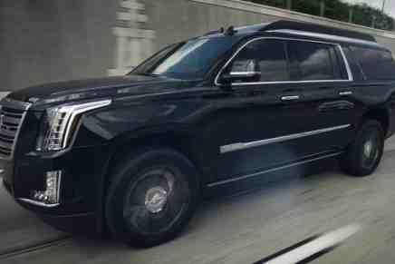 ¡Cadillac Escalada Armada 2018! Tienes que ver esta mega espectacular oficina móvil BLINDADA por Lexani Motorcars