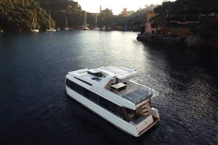 Deléitate con la casa flotante más lujosa del mundo: El Overblue