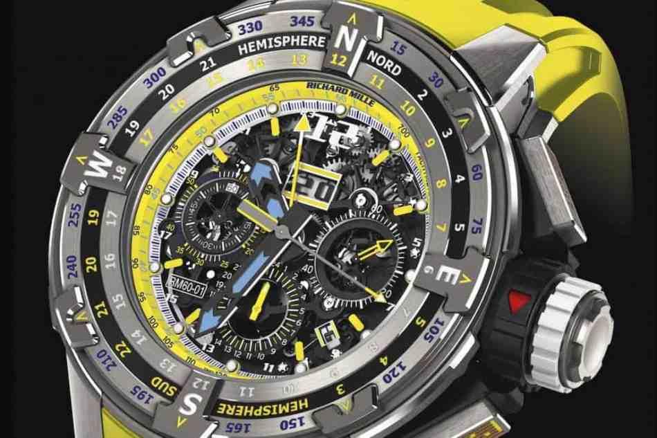 Richard Mille ha lanzado un nuevo reloj Regatta por $161.000