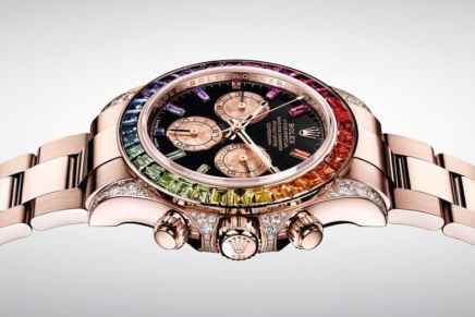"Rolex ""Rainbow"" Daytona regresa en oro Everose de 18 quilates"