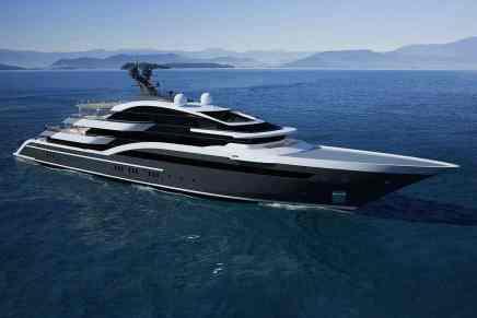 Project Shark, el nuevo mega yate de 90M por Oceanco es lanzado al mar
