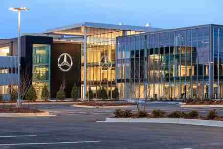 Esta es la nueva y mega impresionante sede principal de Mercedes-Benz en los EE.UU.