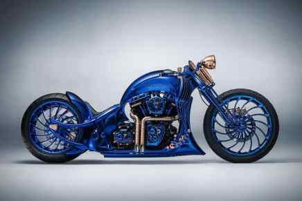 """Harley-Davidson + """"Bucherer Blue Edition"""" de $1,79 MILLONES: Té presentamos la motocicleta más cara jamás creada"""