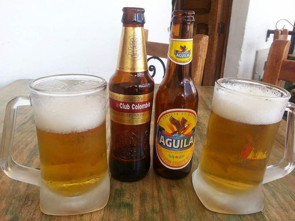 Cervezas colombianas