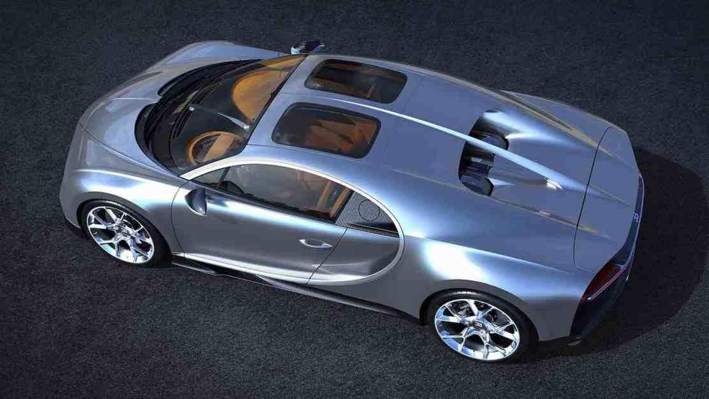 Los nuevos dueños del Bugatti Chiron podrán agregar ahora el Sky View, el sunroof más caro del mundo
