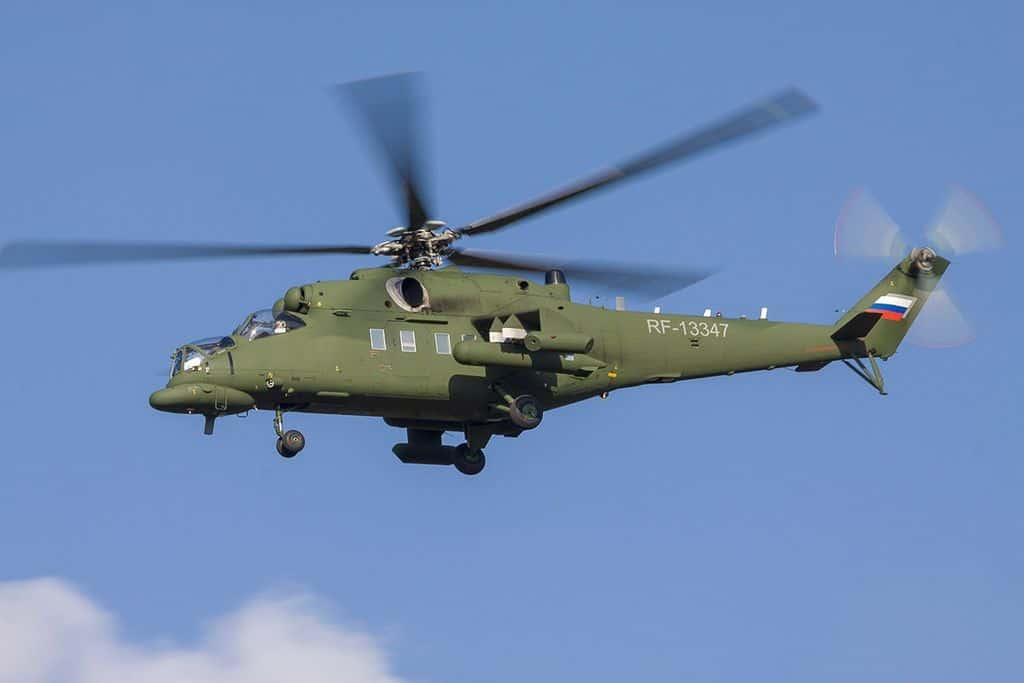 Helicópteros de combate Mi-35MS