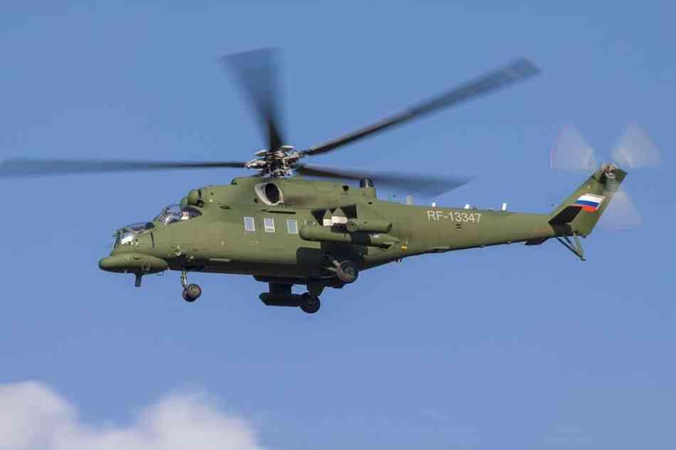 El gobierno de Moscú remodela helicópteros de combate para que funcionen como taxis aéreos para los más poderosos en Rusia