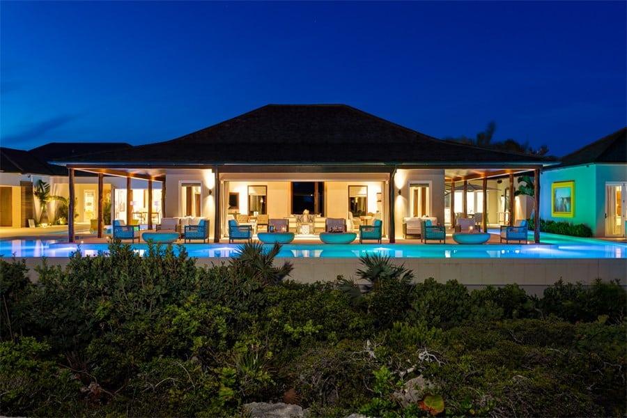 Turtle Tail Estate: Este paraíso tropical de 4.57 ACRES en las Islas Turcas y Caicos se vendió por $25 millones