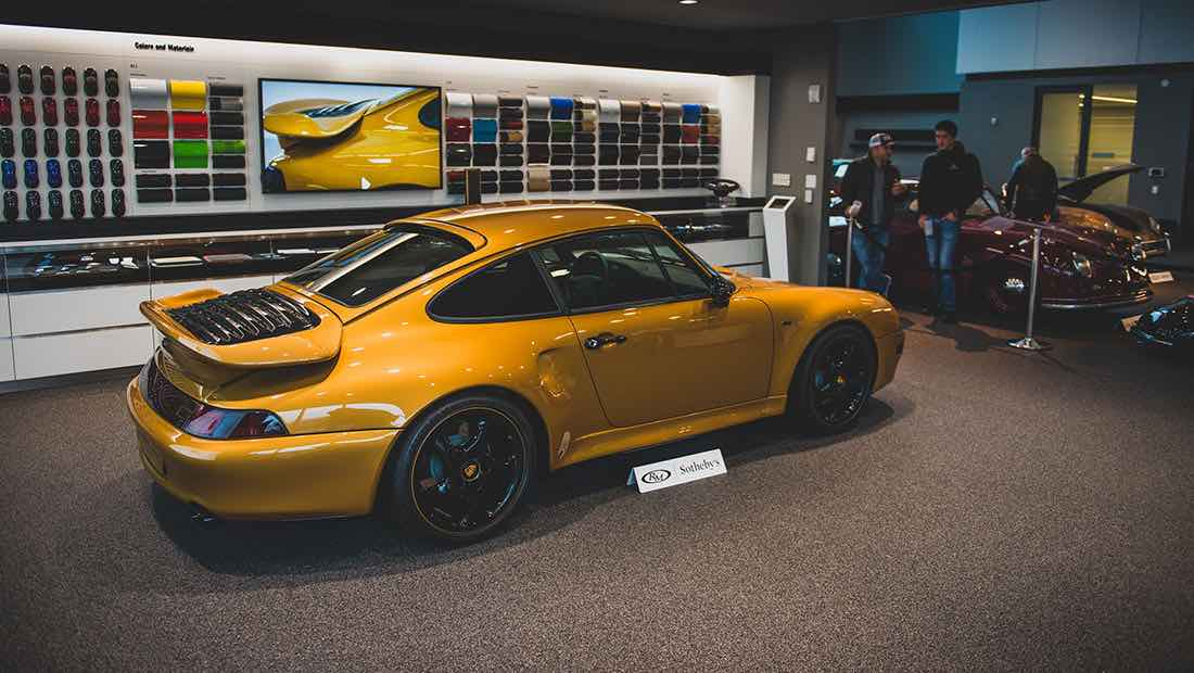 3.125.000 dólares por el 911 de serie más caro de la historia