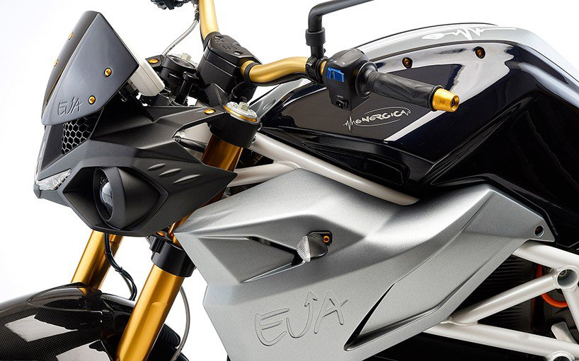 Motocicleta eléctrica EVA de Energica