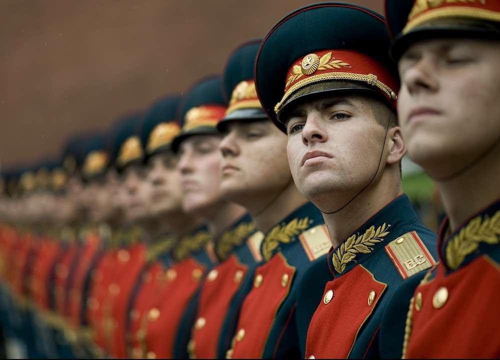 Soldados en Rusia