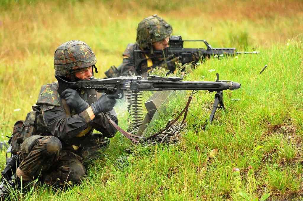 Soldados de Alemania