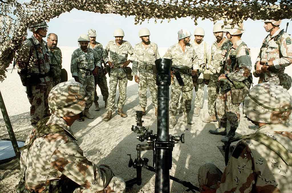 Soldados de Arabia Saudita