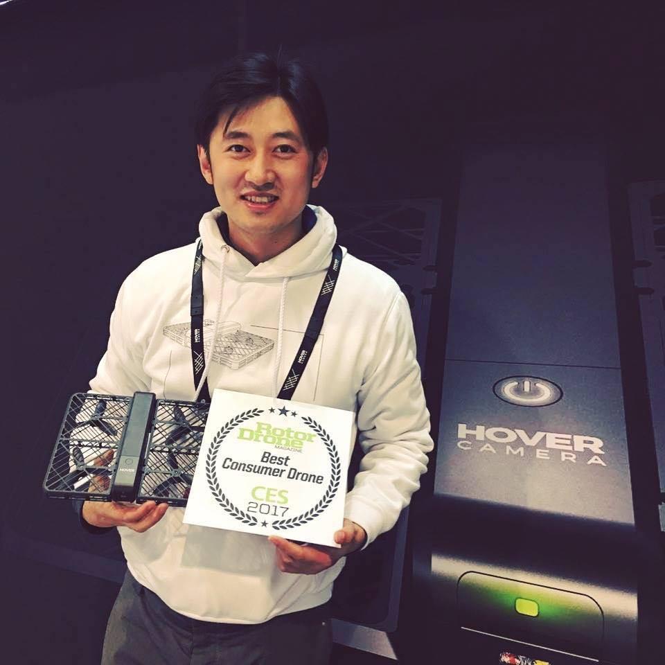 """Meng Qiu Wang """"MQ"""" , el CEO de Zero Zero Robotics"""