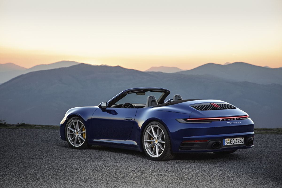 Nuevo Porsche 911 Cabriolet: El icono de los deportivos en versión convertible