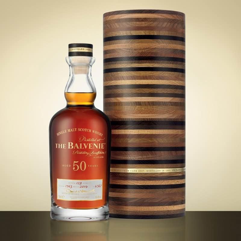 The Balvenie 50: Cada botella de este exclusivo whisky de 50 años cuestan $38.000