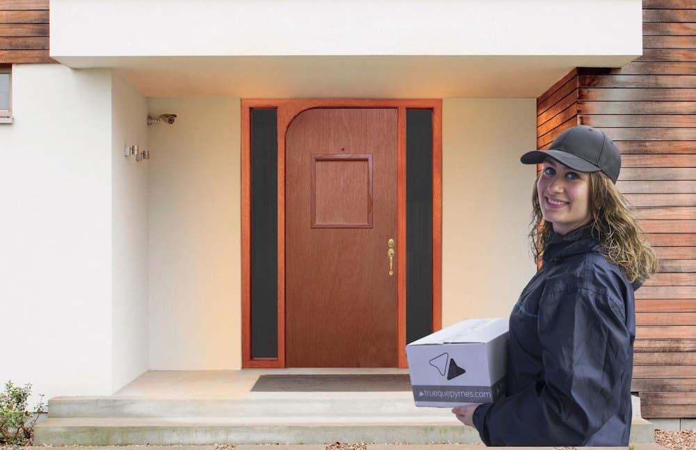 Yolodoor, la puerta inteligente que recoge los envíos cuando no se está en casa