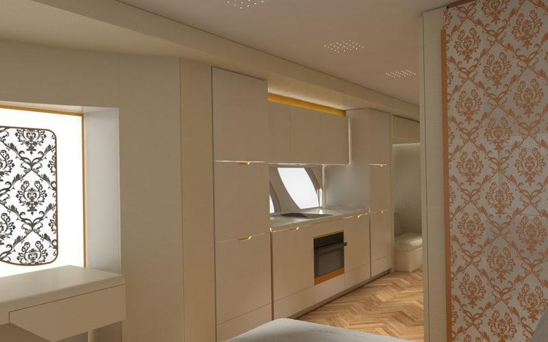 La eleMMent palazzo Superior de €2 millones por Marchi Mobile, es como una super lujosa mansión sobre ruedas