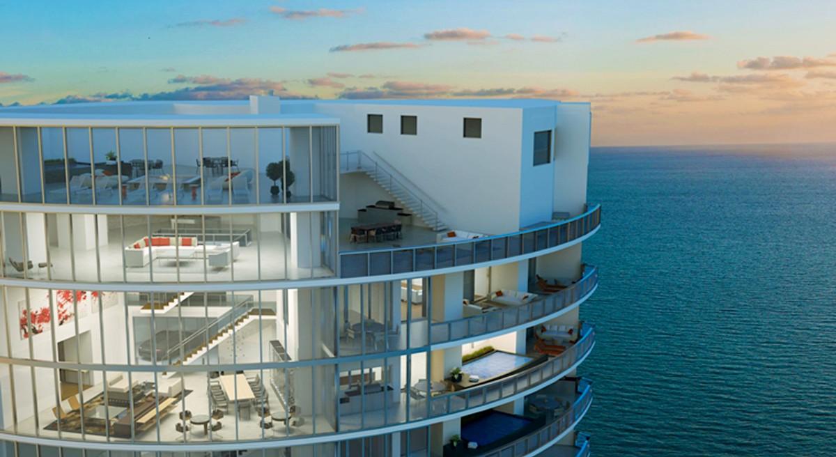 Lujosa Porsche Design Tower en Sunny Isles Beach, Florida