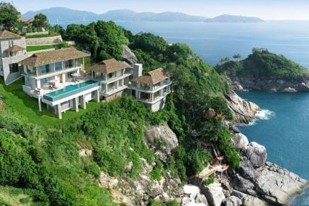 Liberty Villa: Una mega espectacular villa de vacaciones frente al mar en Phuket, Tailandia