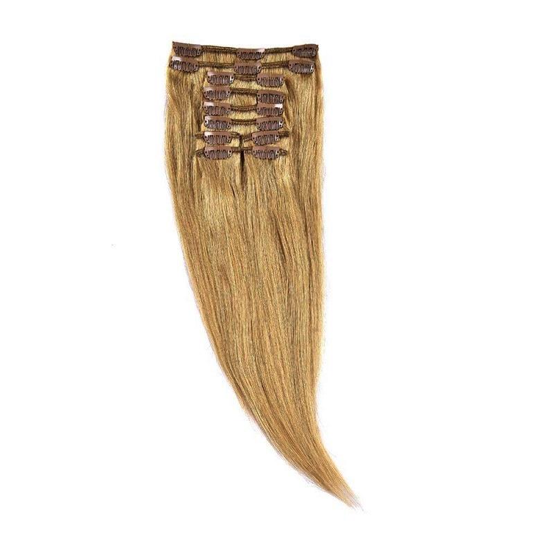 Clip-On Par Natural 30cm 80gr Blond Mediu #18